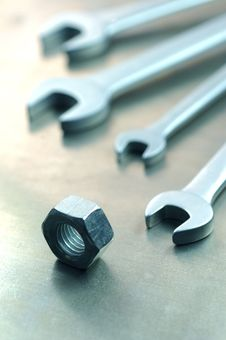 Free Spanner4 Royalty Free Stock Photo - 1624395