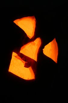 Free Jack O Lantern In Darkness Royalty Free Stock Photos - 1624608