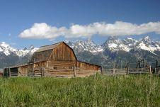 Mormon Row Barn Stock Images