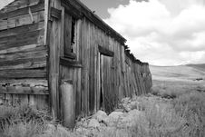 Free Bodie Ghost Town Royalty Free Stock Image - 1625986