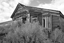 Free Bodie Ghost Town Jail Stock Photography - 1626152