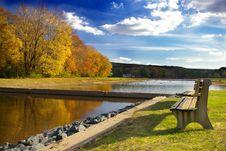 Autumn At Deer Lake Royalty Free Stock Image