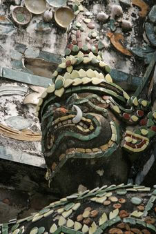 Free Wat Arun Temple Detail Royalty Free Stock Image - 1628896