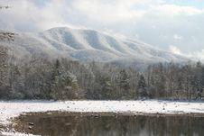 Free Snow Lake Mountain2 Royalty Free Stock Images - 1629389