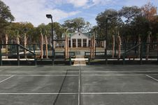 Free Tennis Clubhouse Royalty Free Stock Image - 1629826