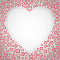 Free Heart Floral Frame Stock Image - 16201611