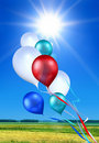 Free Soaring Toy Balloons Stock Images - 16205734