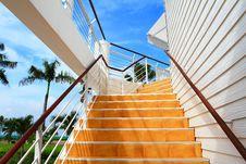 Free Orange Staircase Stock Photos - 16200123
