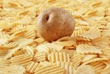 Free Potato Chips Stock Photo - 16200250