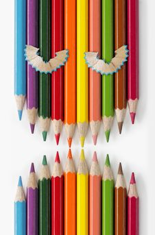 Free Angry Color Pencils Stock Photos - 16200343
