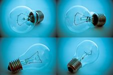 Free Color Bulb Collection Stock Photography - 16200432