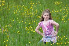 Free Flower Child Royalty Free Stock Photography - 16200487