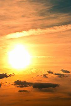 Free Beautiful Sunset Royalty Free Stock Photos - 16200678