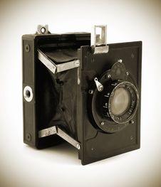 Free Old Photo Camera Stock Photography - 16200812