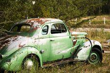 Free Abandoned Car Royalty Free Stock Photography - 16200907