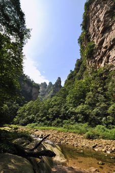 Free Brook Among Mountains Royalty Free Stock Photos - 16200908