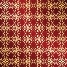 Free Golden Ornament Background Royalty Free Stock Photography - 16201787