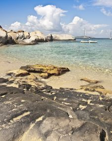 Free Sea Sand And Surf Virgin Gorda Stock Image - 16201931