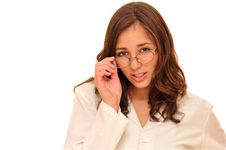 Beautiful Young Doctor Woman Royalty Free Stock Photos
