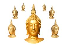 Free Seven Buddha Faces Stock Images - 16203504