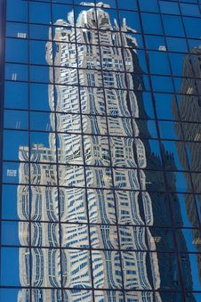 Free Skyscraper Reflection Stock Images - 16204474
