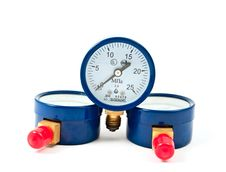 Free Oxygen Pressure Gauge Stock Images - 16204694