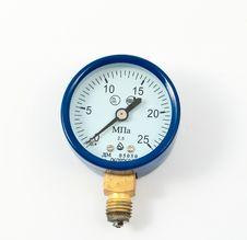 Free Oxygen Pressure Gauge Stock Image - 16204821