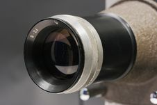 Free Projector Lens Close Up Royalty Free Stock Photography - 16205237
