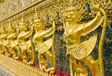 Free Garuda Golden Statue In Bangkok Stock Photos - 16205393