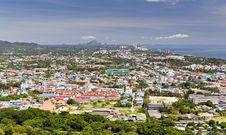 Huahin City Royalty Free Stock Photo