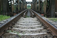 Free Train Black Bridge Stock Photo - 16207100