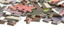 Free Pieces Of Puzzle Isolated Stock Photos - 16208463