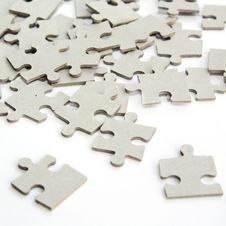 Free Pieces Of Puzzle Upturned Royalty Free Stock Image - 16208466