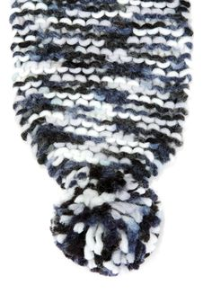 Free Part Knitted Warm Scarf Royalty Free Stock Images - 16209029