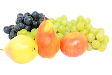 Free Pears And Grapes Royalty Free Stock Photo - 16209195