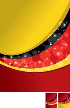 Free German Flag Backgroung Stock Photos - 16209423