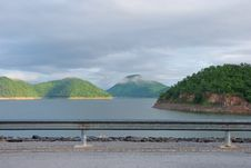 Free Scenic Point Of The Dam Royalty Free Stock Photo - 16210015