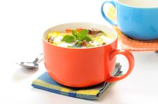 Free Baked Egg Cup Stock Images - 16210154