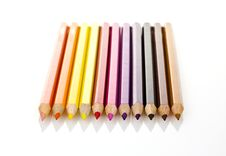 Free Colored Pencils Royalty Free Stock Photos - 16210158