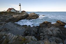 Free Portland Head Light - Lighthouse Stock Photos - 16210393