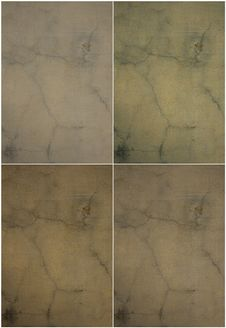 Free Natural Tones Cracked Plaster Wall Set Stock Images - 16210424