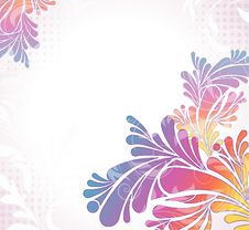 Free Colorful Floral Background Royalty Free Stock Photo - 16210705