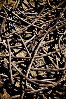 Free Rebar Texture Royalty Free Stock Photo - 16210785