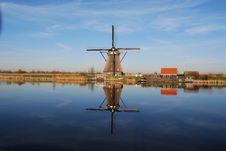 Dutch Mill Stock Image
