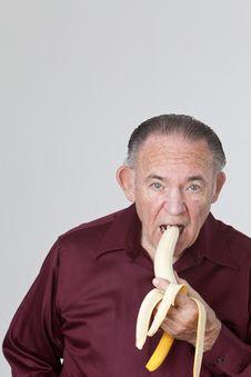 Free Eating Banana Royalty Free Stock Photos - 16210878