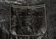 Free Pocket On Black Leather Clothing Stock Photography - 16211102