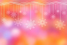 Free Holiday Ornament On The Lilac-pink Background Stock Image - 16211861