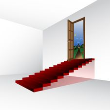 Free Dream Stairs, Vector Royalty Free Stock Photos - 16212238