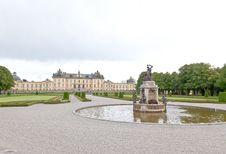 Drottningholms Palace In The Stockholm City Stock Image