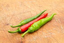 Free Chillies Stock Image - 16216581